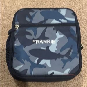 Lunch box pottery barn but it says Frankie